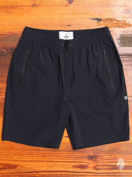 """Sea to Sky"" Team Shorts in Black"