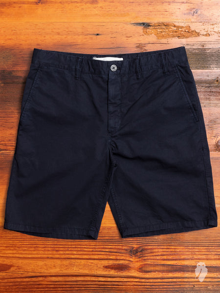 Aros Light Twill Shorts in Dark Navy