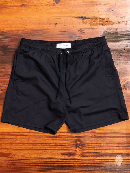 Hauge Swim Shorts in Dark Navy
