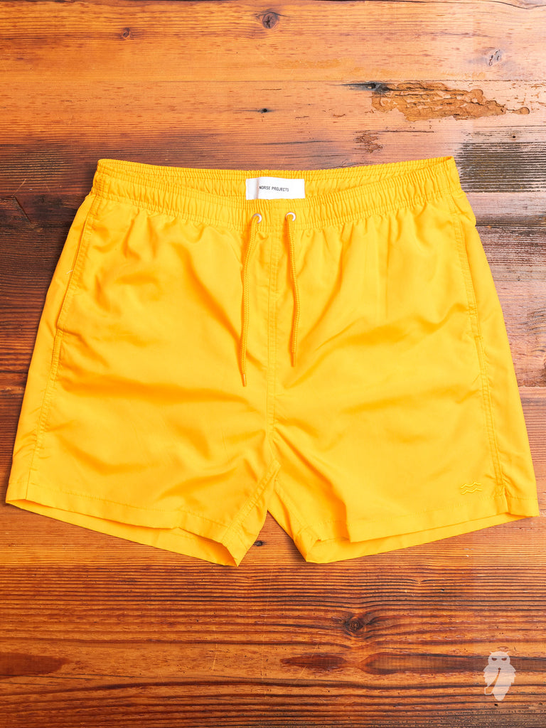 Hauge Swim Shorts in Sunwashed Yellow