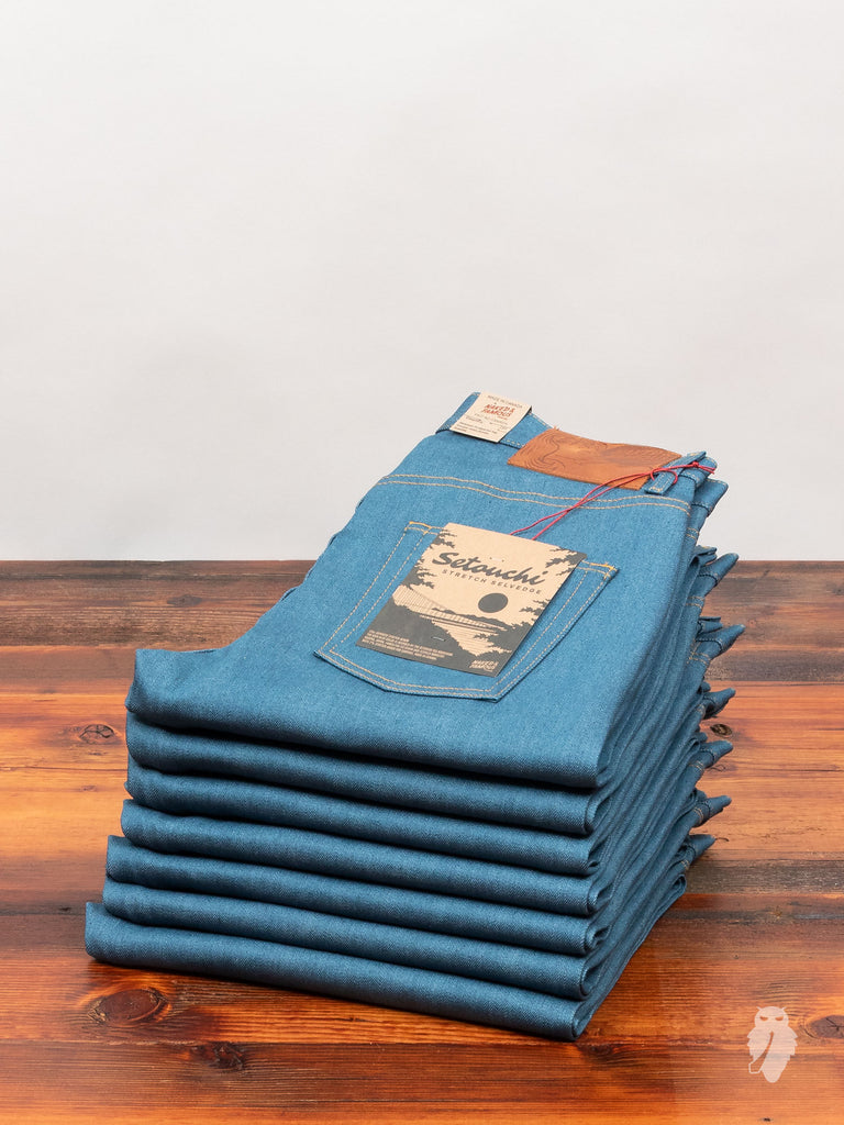 """Setouchi Stretch"" 12oz Selvedge Denim - Easy Guy Fit"