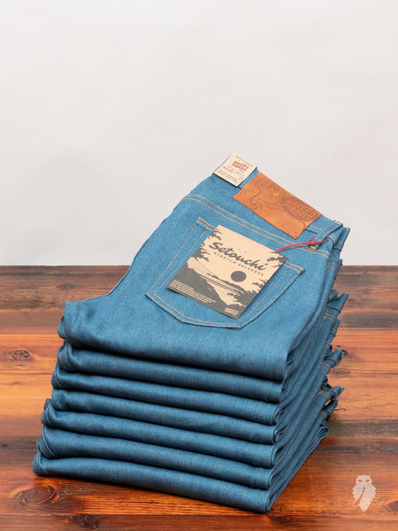 """Setouchi Stretch"" 12oz Selvedge Denim - Weird Guy Fit"