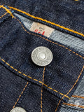 16oz Rinsed Selvedge Denim - Slim Fit