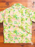 """Big Tropical"" Aloha Shirt in Pink"