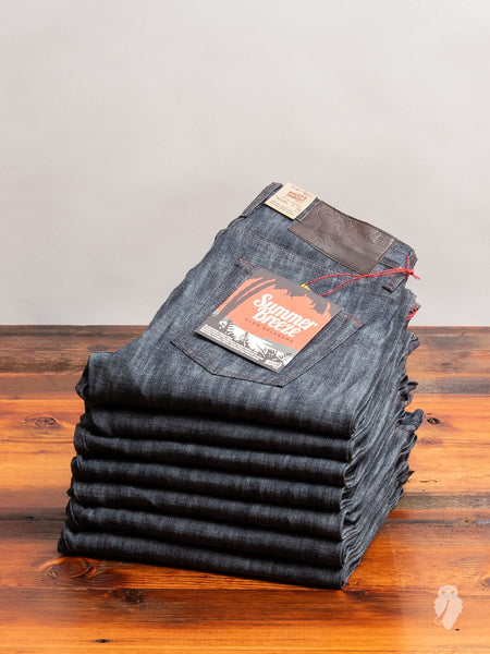 """Summer Breeze Slub"" 10oz Selvedge Denim - Weird Guy Fit"