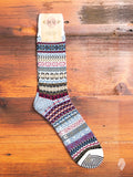 Up Helly AA Sock in White