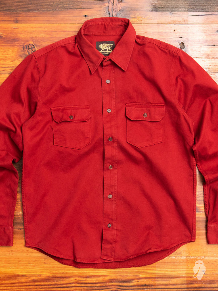 Alamo Shirt in Guajillo Red