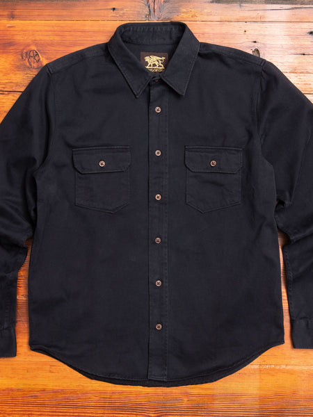 Alamo Shirt in Marshall Black