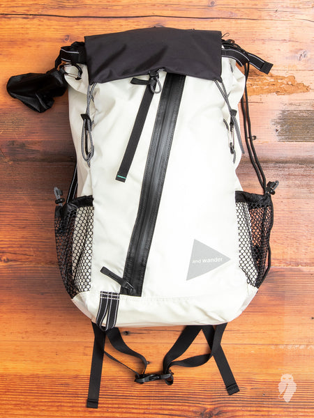30L Backpack in White