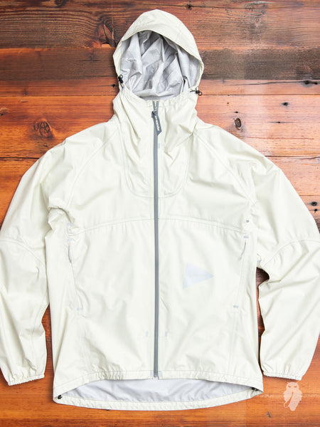 3L Light Rain Jacket in Off White