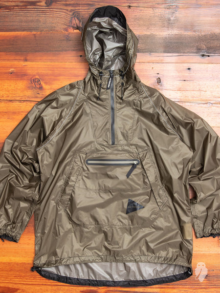 Fly Rain Anorak in Olive