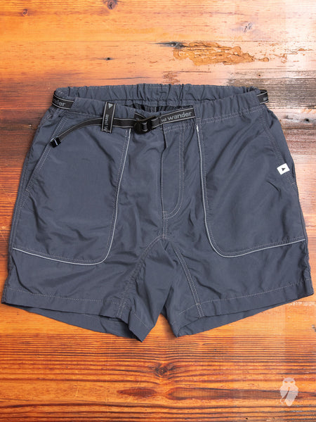 Nylon Climbing Shorts in Grey