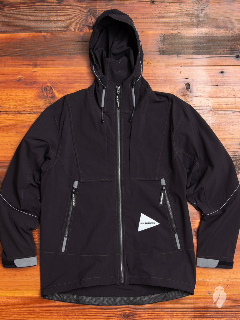 Nylon Shell Jacket in Black