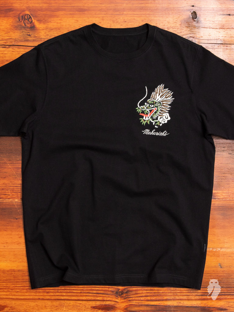 """Ghost"" T-Shirt in Black"