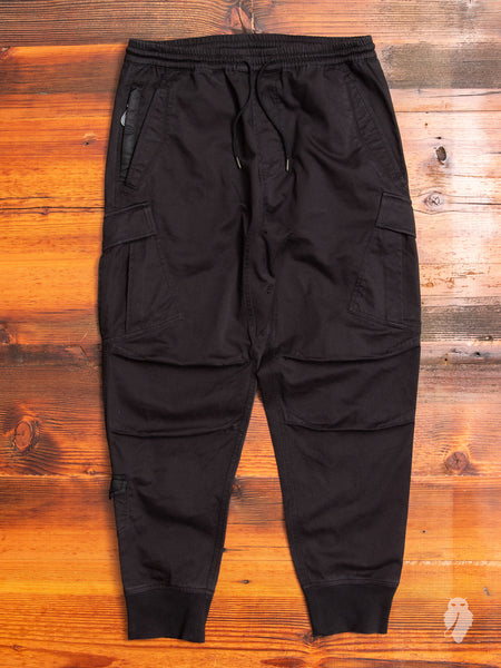 MA Cargo Trackpants in Black