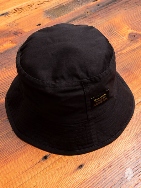 50729b0a01e Reversible Camouflage Bucket Hat in Black