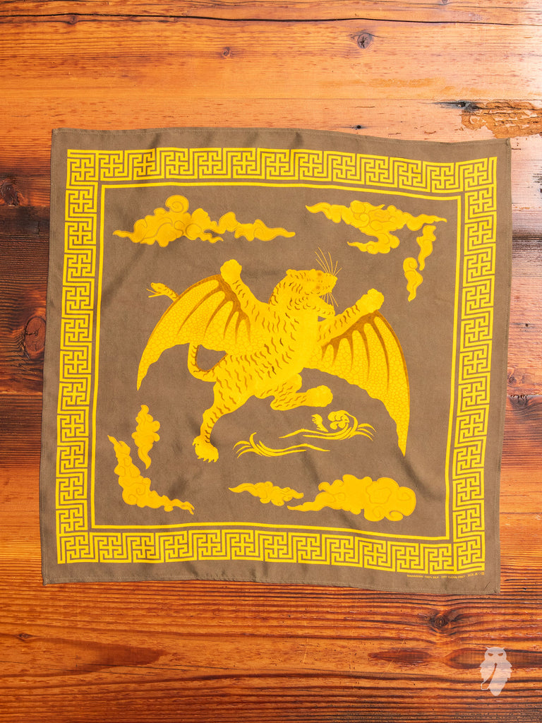 """Tygers of Darkness"" Bandana in Maha Olive"