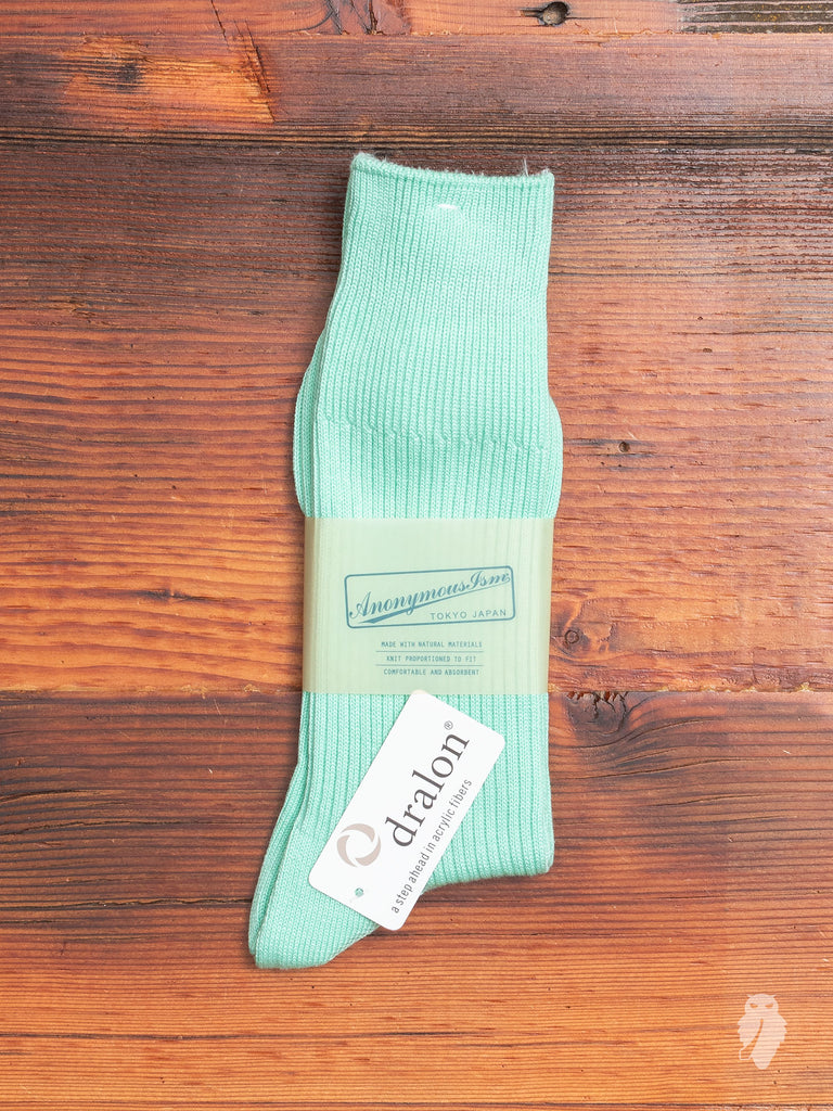 Brilliant Crew Sock in Mint