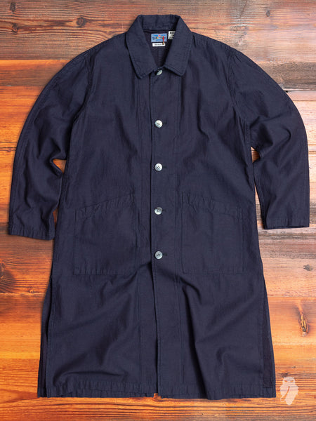 Cowboy Duster Coat in Indigo