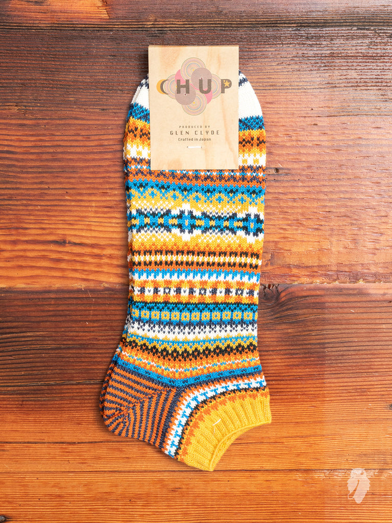 Pask Ankle Sock in Gold