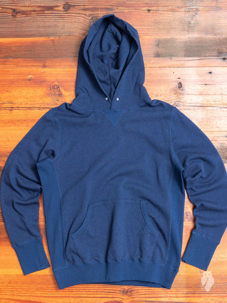 Pullover Hoodie in Indigo