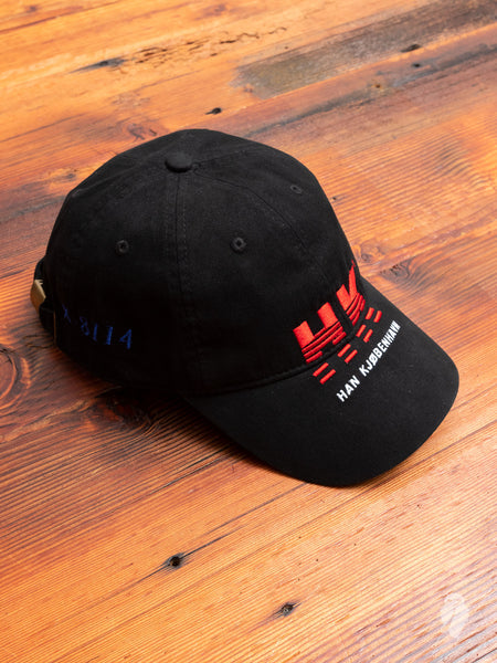 """Han"" Artwork Hat in Black"