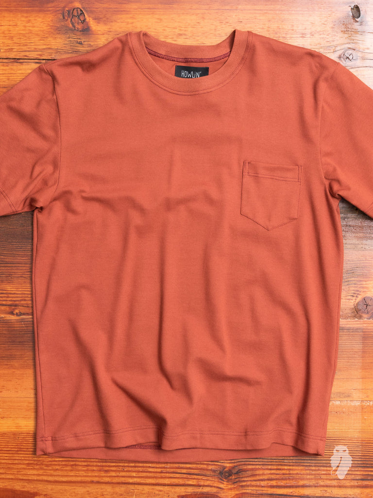 """Hypnoteque"" T-Shirt in Reddish"