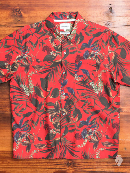 Carsten Camp Shirt in Askja Red