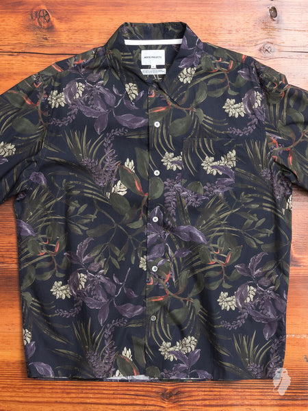 Carsten Camp Shirt in Dark Navy
