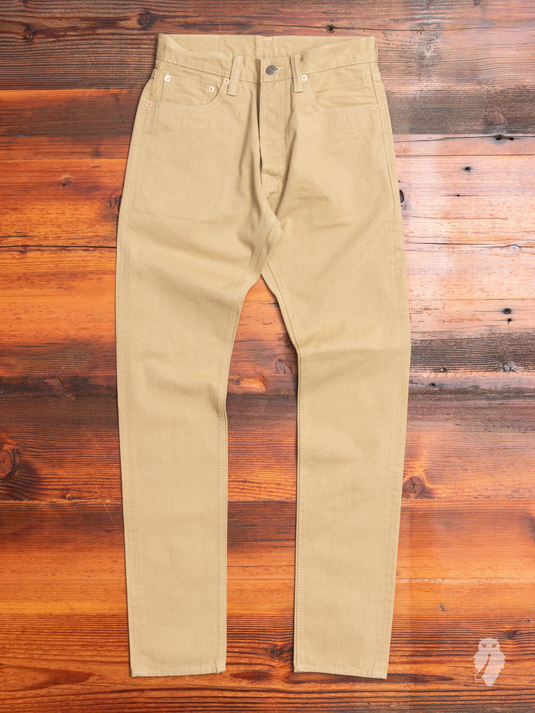 12oz Selvedge Chino in Beige