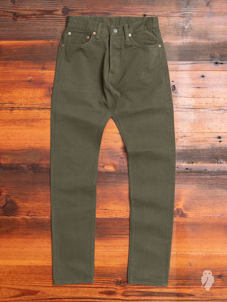 12oz Selvedge Chino in Olive