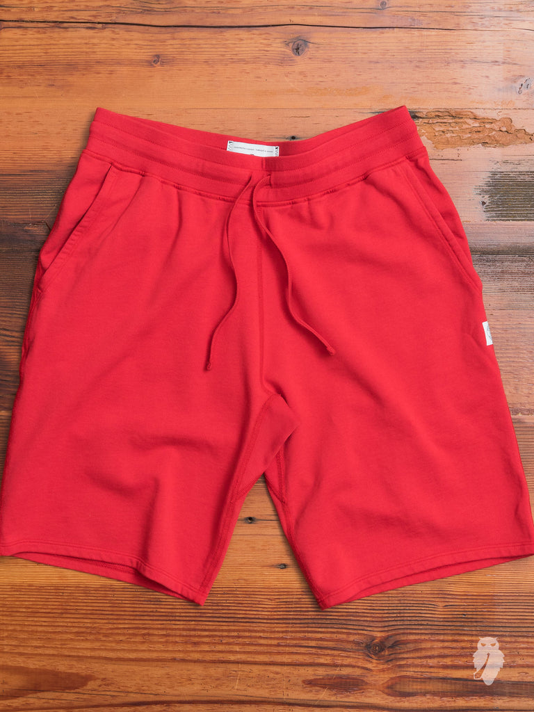 Lightweight Sweatshort in Red