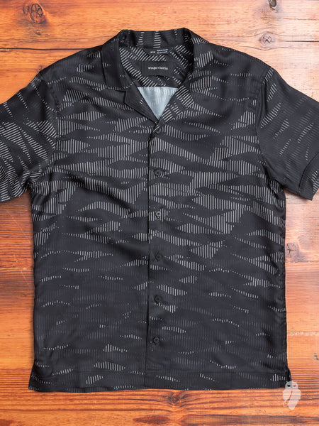 """Storm 36"" Deck Shirt in Black"