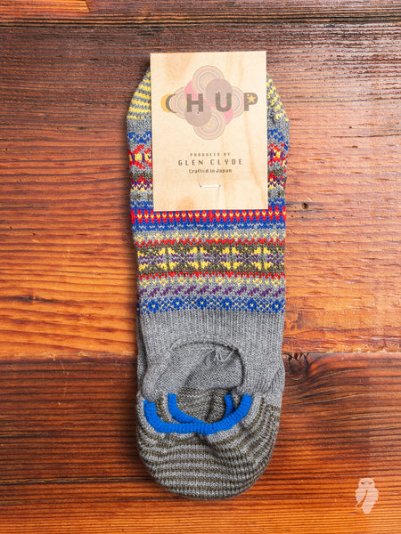 Koli No-Show Sock in Grey