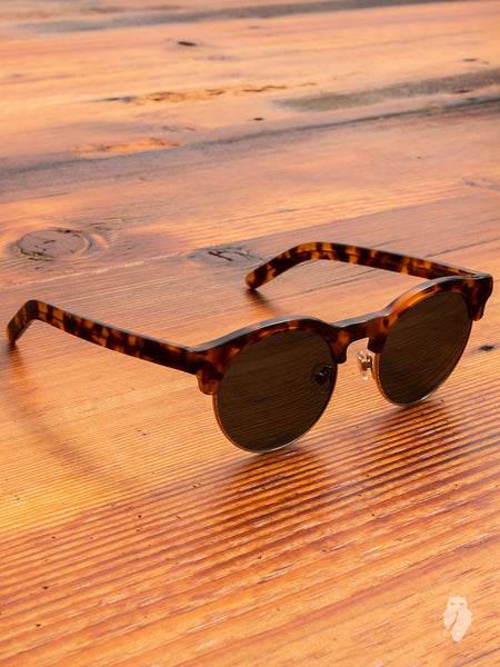 """Smith"" Sunglasses in Amber"