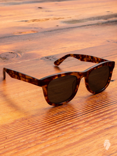 """Wolfgang"" Sunglasses in Amber"