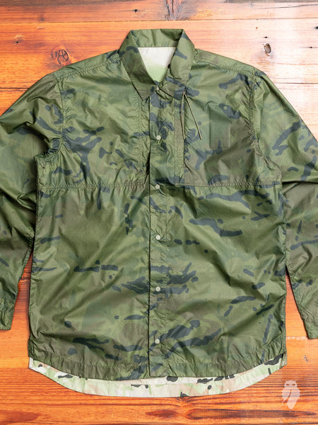 Camo Tech Shirt in Olive Coated DPM