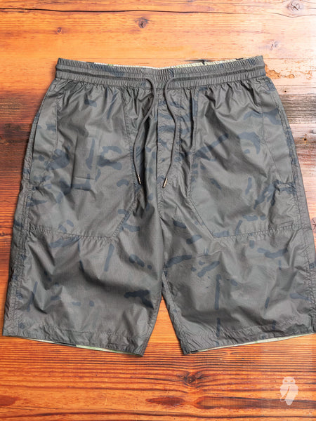Camo Tech Shorts in Charcoal Coated DPM