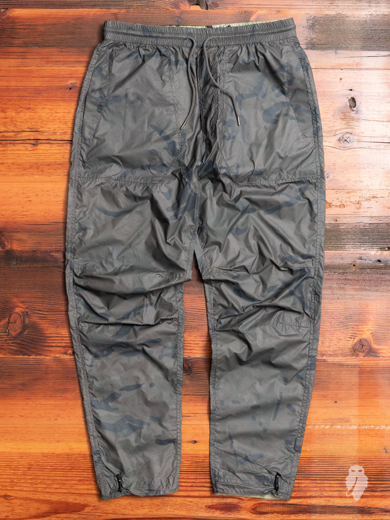 Camo Tech Trackpants in Charcoal Coated DPM