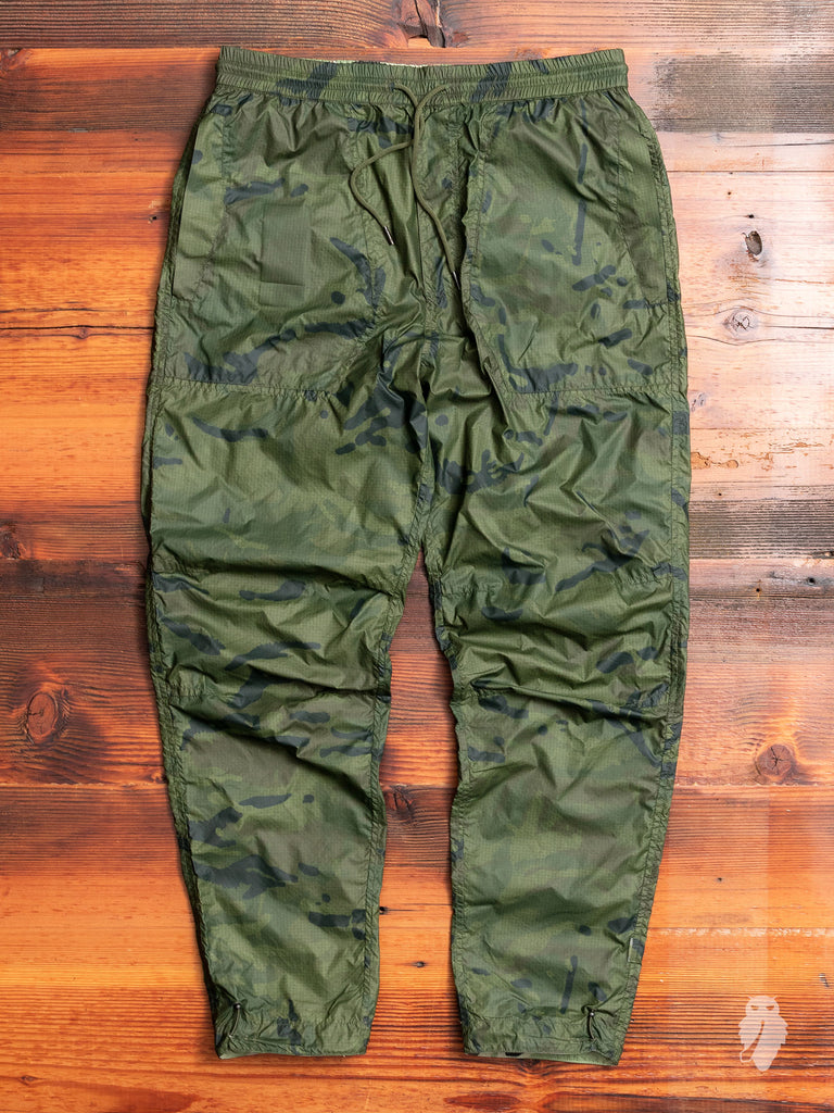 Camo Tech Trackpants in Olive Coated DPM
