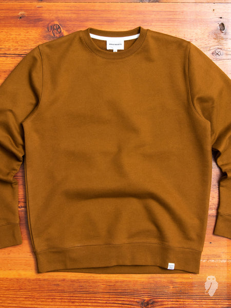 Vagn Crewneck Sweater in Russet