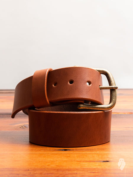 """Wenatchee Belt"" in Burnished Cognac"