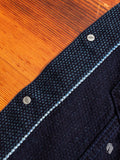 6097 Selvedge Sashiko Type-3 Jacket in Indigo