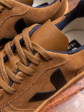 V-10 Sneaker in Brown Suede