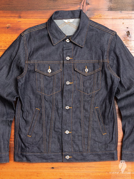 Lightweight Type-3 Denim Jacket in Indigo
