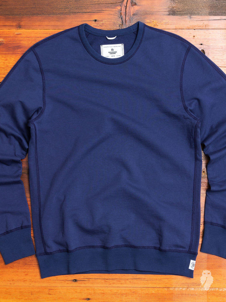 Lightweight Crewneck Sweater in Blue