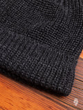 Wool Knit Watch Cap in Charcoal