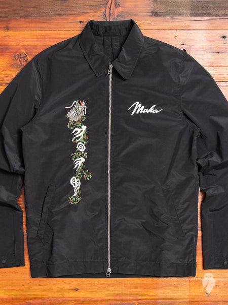 Leopard Tour Jacket in Black