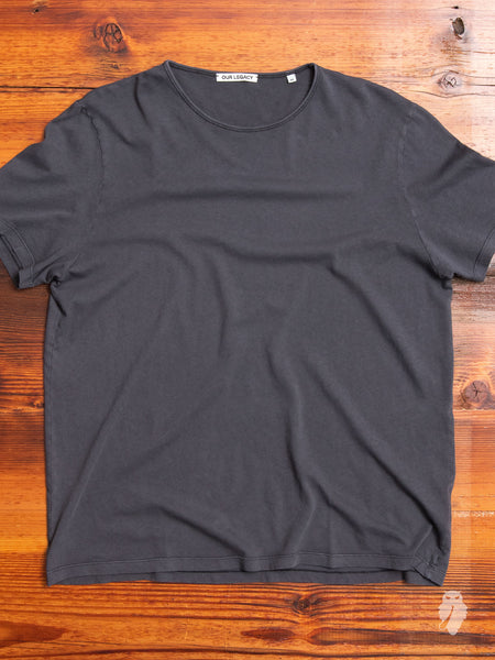 U-Neck T-Shirt in Smog Bandage