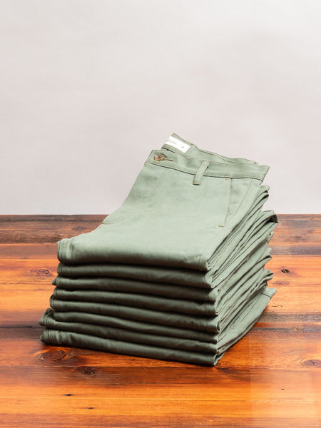 CH-55x 12oz Selvedge Chino in Olive